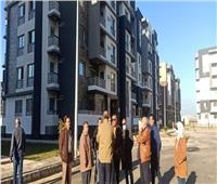 رئيس جهاز مدينة دمياط الجديدة يتفقد وحدات مشروع «JANNA»