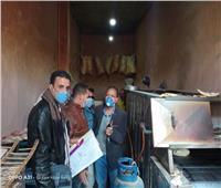 ضبط 22 مخالفة لعدم إرتداء الكمامات وإزالة حالة تعدي بمدينة ملوى | صور