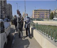محافظ أسيوط يتابع أعمال رصف وتطوير ميادين بحي غرب وشرق