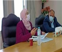 نائب محافظ القاهرة تتابع تنفيذ الخطة الاستثمارية بالمقطم