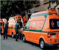 إصابة أمين شرطة سقط من برج مراقبة أمنية بالمنيا