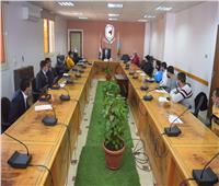 جامعة سوهاج تكرم طلابها الفائزين بمراكز متقدمة علي مستوي الجمهورية