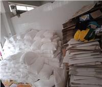 ضبط مصنع أدوية بيطرية غير مرخص بغرب الاسكندرية