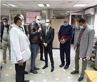 نائب محافظ سوهاج يتفقد مستشفى المراغة المركزي