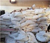 تموين الإسكندرية: ضبط مصنع غير مرخص لصناعة الأدوية البيطرية والأعلاف