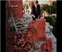 إزالة بناء مخالف في حي الدقي | فيديو