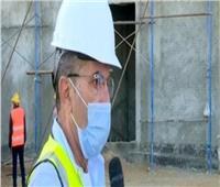 مدير مشروع القطار الكهربائي: نسبة الإنجاز وصلت إلى 72%.. فيديو