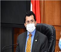 وزير الشباب يلتقي الفائزين في برلمان شباب مصر الاثنين