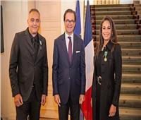 هند صبري تحصل على أهم وسام ثقافي فرنسي