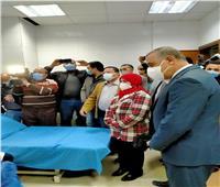 محافظ سوهاج يشهد تلقي أولى جرعات لقاح كورونا للأطقم الطبية