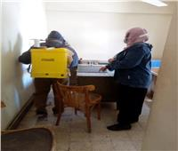 استكمالتطهير المنشآت بحي شرق شبرا الخيمة في القليوبية