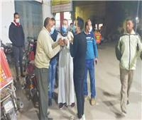 تحرير 170 محضرا لمواطنين لم يلتزموا بارتداء الكمامات في بني سويف