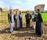 لجنة «حياة كريمة» تتفقد قرية جريس بالمنوفية لرصد احتياجات الأهالى