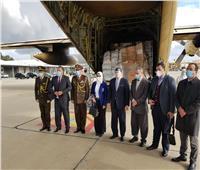بالصور| وزيرة الصحة تصل لبنان مع 3 طائرات مساعدات ومستلزمات طبية