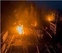 بالفيديو| إصابة 3 أشخاص بانفجار في مصنع روسي للبارود