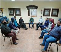 ملتقى أدبي بقصر ثقافة الغنايم في أسيوط