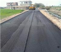 انتهاء رصف 130 طريقًا بتكلفة 119 مليون جنيهفي البحيرة