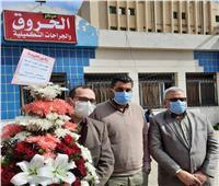 وفد من نقابة الأطباء يزور مدير مستشفى المنشاوي بعد اعتداء مجهولين عليه