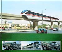 «أول سكة للقطار».. مشروع المونوريل يشهدًا تطورًا جديدًا | صور