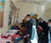 افتتاح معرض منتجات «نادي المرأة» بقصر ثقافة الأسمرات