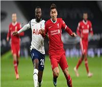 ليفربول يتقدم بالهدف الأول أمام توتنهام