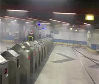 إخلاء المحطة من الركاب.. مترو الأنفاق يكشف سر أدخنة «البحوث»