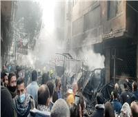 صور وفيديو| السبب الرئيسي في حريق سوق التوفيقية