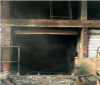 التحقيقات تكشف: 5 ملايين جنيه الخسائر المبدئية لحريق سوق التوفيقية