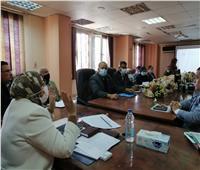 نائب محافظ القاهرة تناقش خطة تطوير ميادين السيدة زينب والمعادي والبساتين