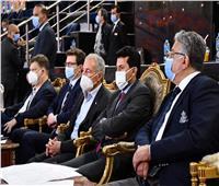 وزير الرياضة يحضر مباريات نصف نهائي مونديال اليد
