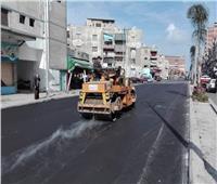 محافظ بورسعيد : استمرار أعمال تطوير وتوسعة شارع الأمين