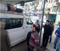 تحرير 160 محضرا لعدم ارتداء الكمامات في بني سويف