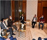 الوفدان البولندي والسويدي لكرة اليد يطلبان الاستفادة بالخبرة المصرية