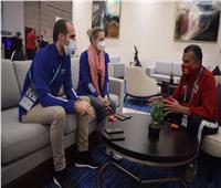 مرتجي يستقبل مسئولي «فيفا» بفندق إقامة الأهلي