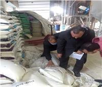 صبط 5 أطنان أرز وسكر منتهي الصلاحية و1500 قطعة حلوى مجهولة المصدر بالبحيرة