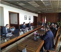 وزير الري ومحافظ الغربية يناقشان الموقف التنفيذي لمشروعات الموارد المائية