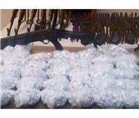 ضبط متهمين بحوزتهم 2 كيلو «أستروكس» وسلاح في حملة بالجيزة