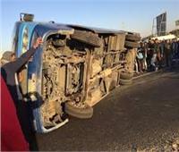 نقل 16 مصاب لمستشفى جمال حمادة المركزي في حادث بالطريق الصحراوي