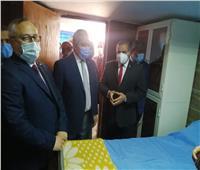 رئيس جامعة الأزهر يفتتح سكن الأطباء بمستشفى الحسين الجامعي