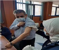 بدء تطعيم الطاقم الطبي في «صدر المعمورة» بلقاح كورونا