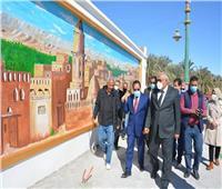 خلال زيارته للمحافظة.. رئيس «التنظيم والإدارة» يتفقد بعض المواقع الأثرية