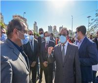 محافظ الإسكندرية يبدأ تنفيذ مشروع تطوير الأسواق العشوائية