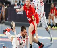 الشوط الأول.. الدنمارك تتعادل مع السويد في صراع ذهبية مونديال اليد