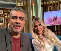 عمرو الليثي لـ رزان مغربي: احلم بالصحة وكورونا رسالة سماوية بها الكثير من العظة