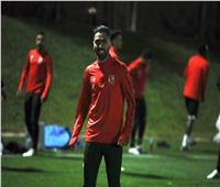 «الشحات» يشارك في جزء من تدريبات الأهلي استعداداً لمونديال الأندية