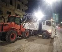 تنفيذ حملة نظافة مكبرة بشوارع حي «جنوب الأقصر»