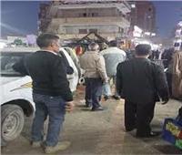 استمرار حملات رفع الإشغالات والباعة الجائلين بشبين القناطر