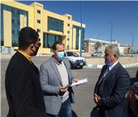 نائب وزير التعليم العالييتفقد مشروعات جامعة العريش