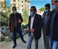 محافظ مطروح يتفقد مشروعات مدينة الضبعة
