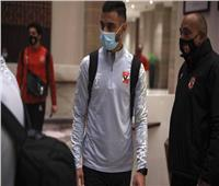 بعثة الأهلي تتوجه إلى ملعب الجامعة لخوض مران اليوم استعدادًا للدحيل